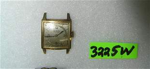 Gruen gold plated very thin men's wrist watch