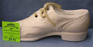 Vintage shoe bank from department collection