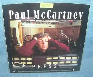Paul McCartney vintage 45 RPM record