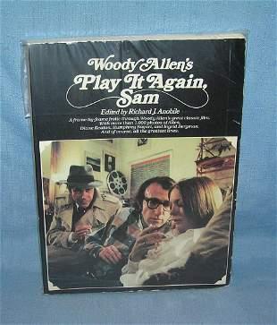 "Woody Allen ""Play it Again Sam"" film book"