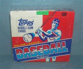 Topps 1988 factory packed baseball card box