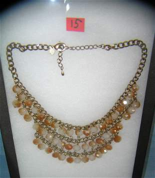 Great vintage beaded necklace
