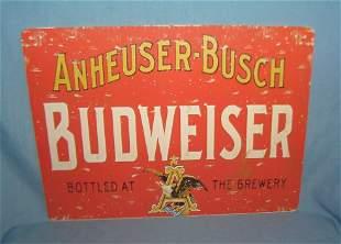 Anheuser Busch Budweiser retro style sign