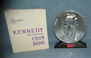 John F Kennedy savings bank with original box