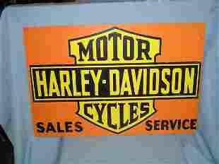 Harley Davidson motorcycle sales and service retro