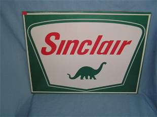 Sinclair Dino gasoline retro style advertising sign