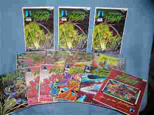 Collection of Warriors of Plasm comic bnooks