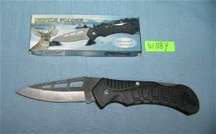 Gentle Folding pocket knife with box