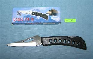 Eagle Eye III pocket knife with box