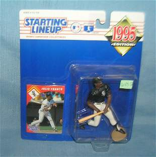 Julio Franco baseball sport figure and sports card