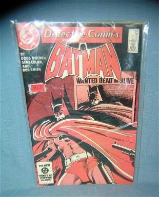 Group of 3 vintage Batman comic books mint old dealer