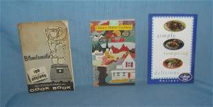 Group of books and booklets vintage