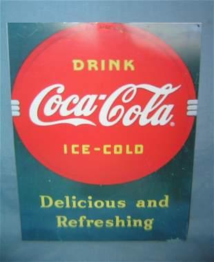 Coca Cola retro style advertising sign