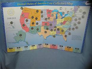 Complete United States of America US state quarter