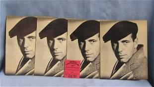 Vintage Humphrey Bogart greeting cards