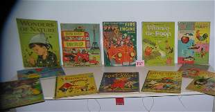 Large collection of vintage children's books