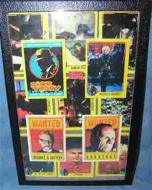 Group of vintage Dick Tracy nonsports cards
