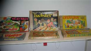 Large collection of vintage games