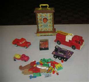 Group of misc. toys