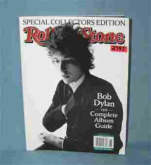 Bob Dylan the complete album guide book