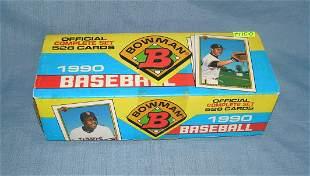 1990 Bowman baseball card set