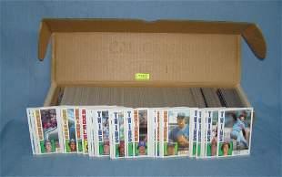 1984 Topps near complete baseball card set