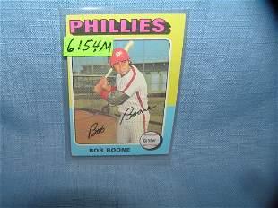 Bob Boon vintage all star baseball card 1975