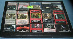 Collection of Star Wars collector's cards