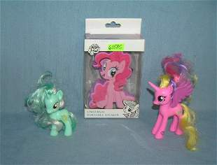 Group of My Little Pony toys