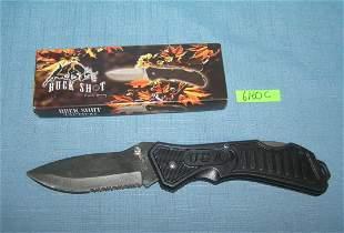 Buck Shot pocket knife with box