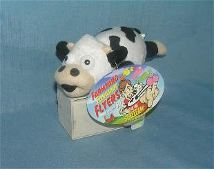 Vintage farm yard fling shot flyers toy