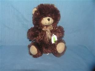 Vintage plush bear toy