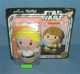 Star Wars Luke Skywalker figure mint on card