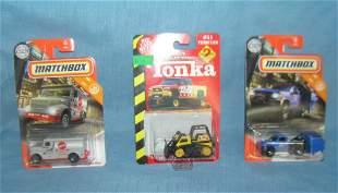 Group of construction vehicles inc matchbox & Tonka all