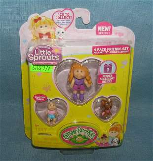 Little Sprouts toy playset mint on card