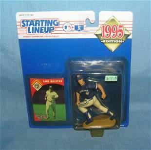 Paul Molitor baseball sports figure and sports card