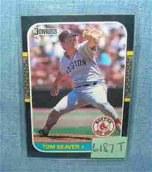 Vintage Tom Seaver baseball card
