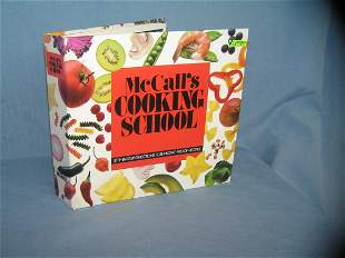 McCall's cooking school step by step cook book