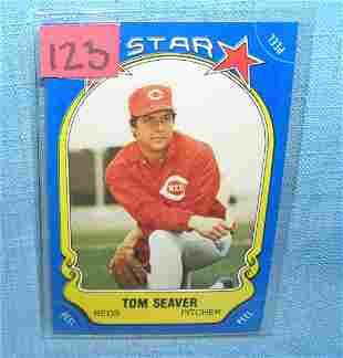 Tom Seaver all star baseball card