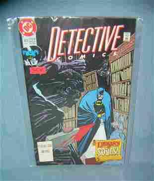 Group of vintage Batman comic books mint old dealer