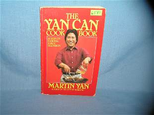 The Yan Can Cook cook book, dated 1985