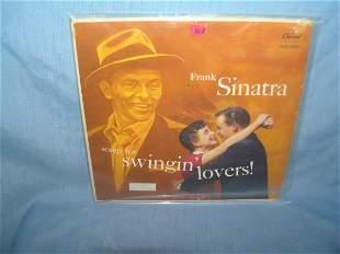 Frank Sinatra vintage record album