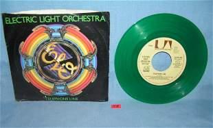 Electric Light Orchestra green vinyl 45 rpm record