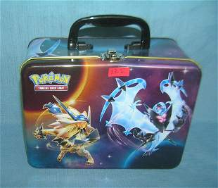All tin Pokemon lunch box