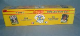 1990 Score factory sealed baseball card set