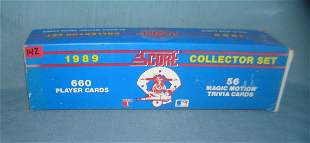1989 Score factory packed baseball card set