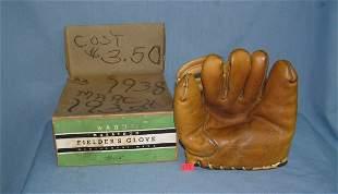 1930's Tony Lazzeri signature model leather baseball