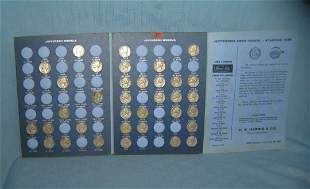 Vintage Jefferson nickle coin collection 1965-1980