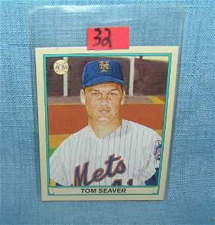 Tom Seaver Playball retro style baseball card