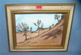 Artist signed oil on canvas painting